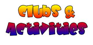 clubs and activities logo image
