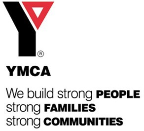 YMCA logo and motto